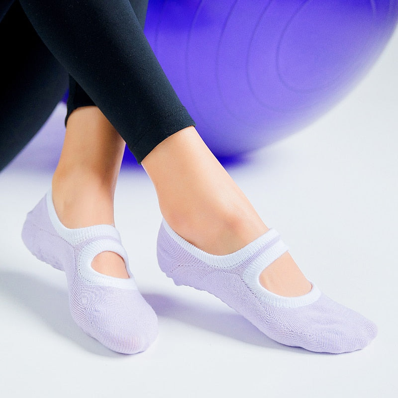 Women's Yoga Socks Non Slip - The remedy barn