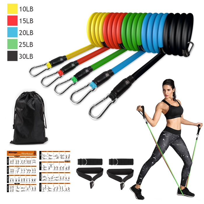 Workout Resistance Bands - The remedy barn
