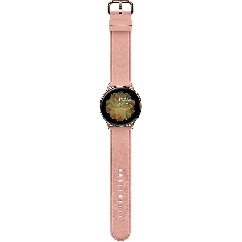 Samsung Galaxy Watch Active2 40mm  Rose Gold  GPS  Bluetooth  Unlocked LTE - US Version - The remedy barn