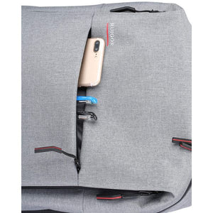 Ruigor CITY 56  26L Backpack - Anti-theft  Water Resistant  Key Holder  Laptop Compartment - Gray - The remedy barn