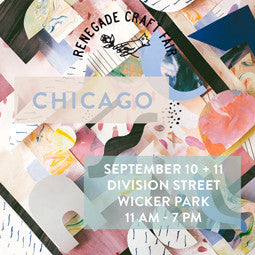 9/10 & 9/11/16 Event: Renegade Craft Fair Chicago