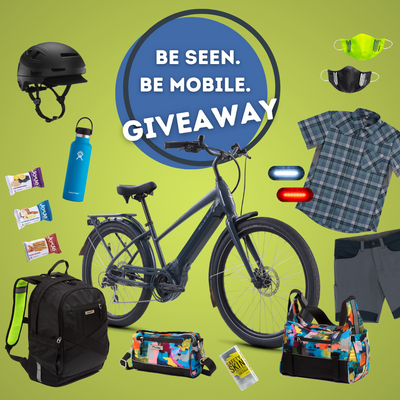 Be Seen. Be Mobile. Giveaway
