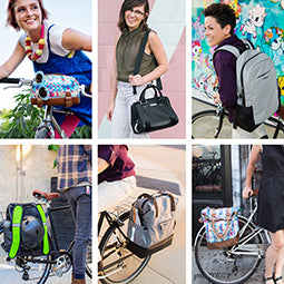 Commuter Bags:  Designed for On and Off the Bike Functionality