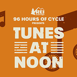 4/28 Event: Tunes at Noon presented by 96 hours of Cycle (REI)