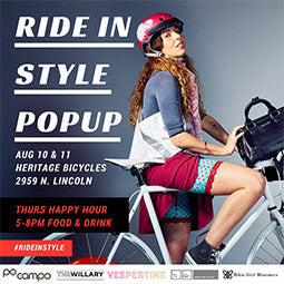 8/10-8/11 Event: Ride In Style Pop-Up