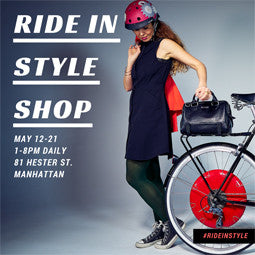 5/12-5/21: Ride in Style Pop-Up Shop!
