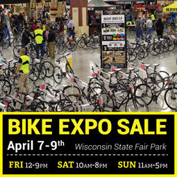 4/7-4/9 Event: WI Bike Expo Sale