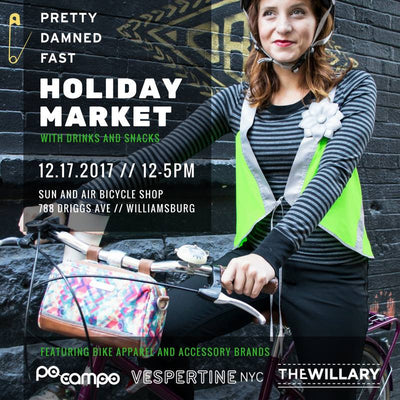 12/17/2017 Holiday Market hosted by Pretty. Damned. Fast