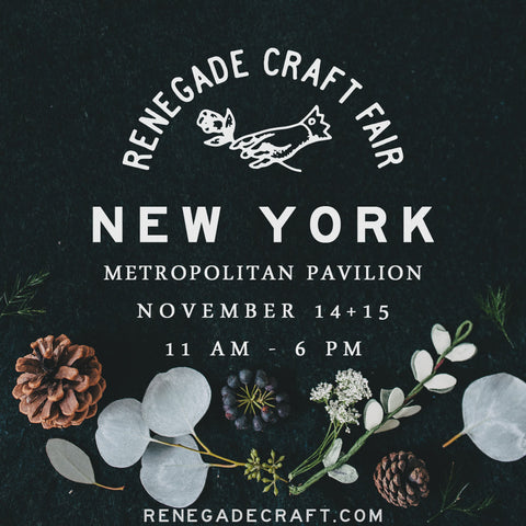 Renegade Craft Fair NY
