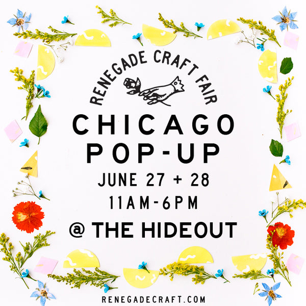 Renegade Craft Fair Pop-Up