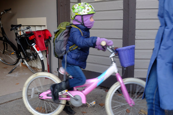 Biking to School - Clothing