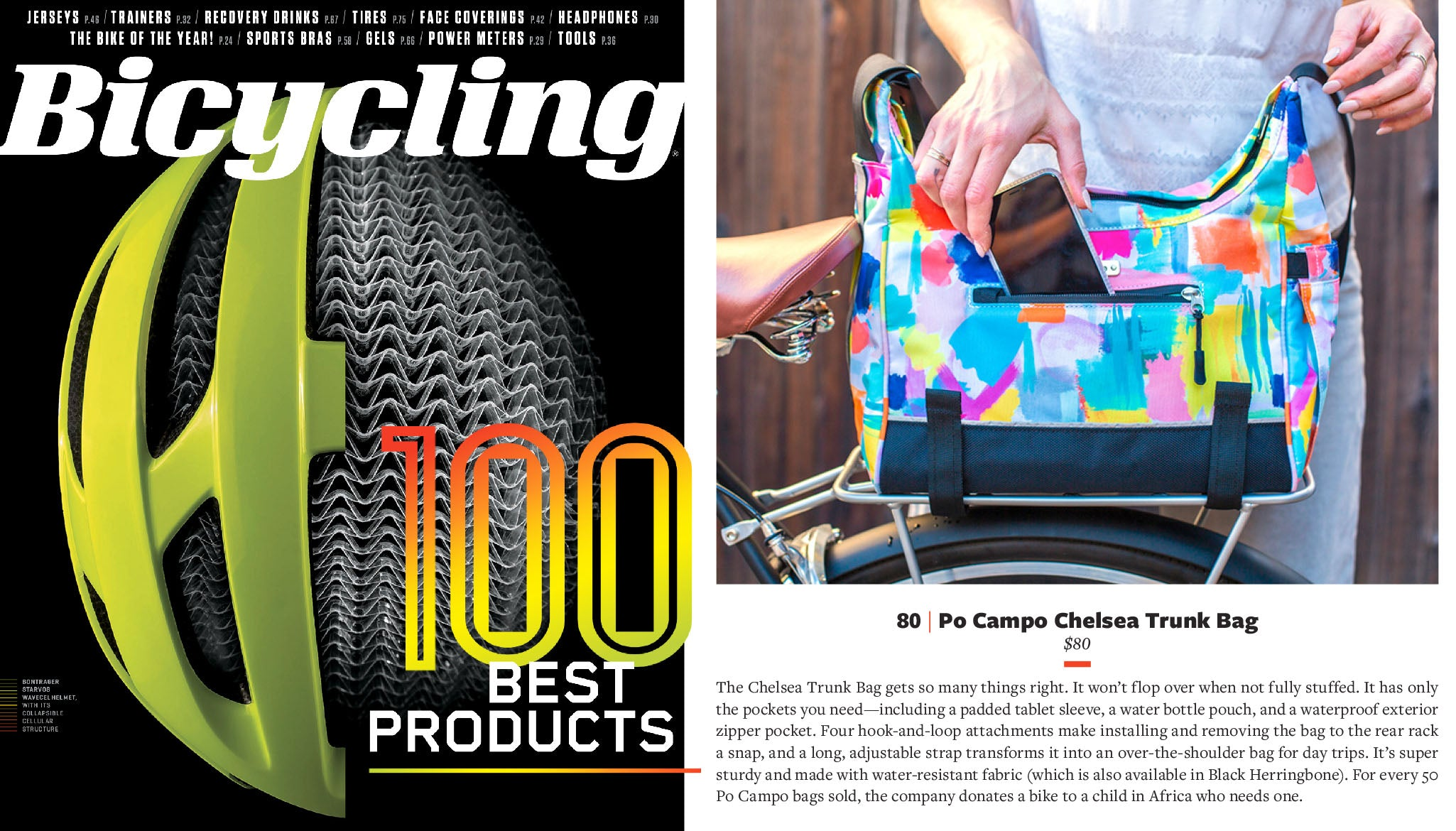 Bicycling Magazine's Top 100 Best Products