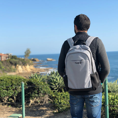 Po Campo Belmont Backpack from recycled water bottles