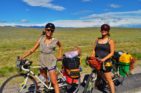 Bike Touring with Po Campo bags