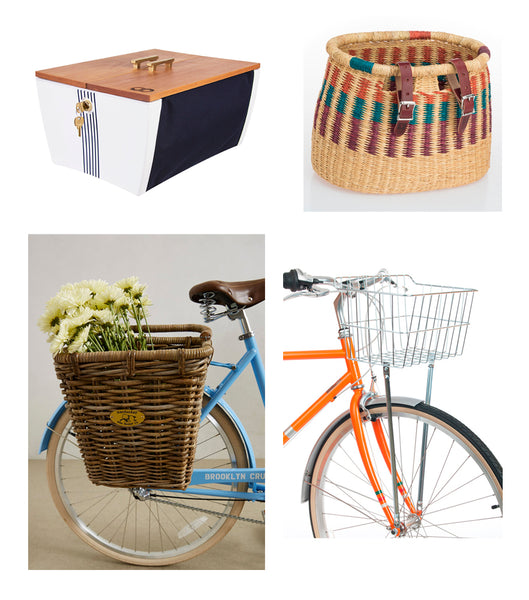 Biking to Work - Baskets and Crates