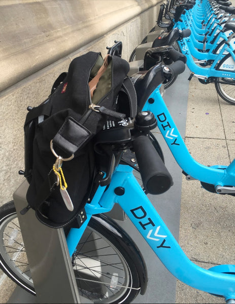 Carrying Things on a bike: Bike Share Bag