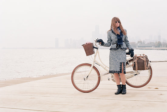 Dress for Winter Biking: Dottie