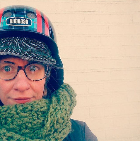 Dress for Winter Biking: Helmet