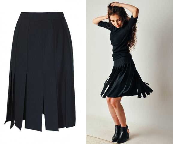 Fall Fashions - Carwash Skirt