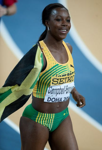 Female Olympians: Veronica Campbell Brown