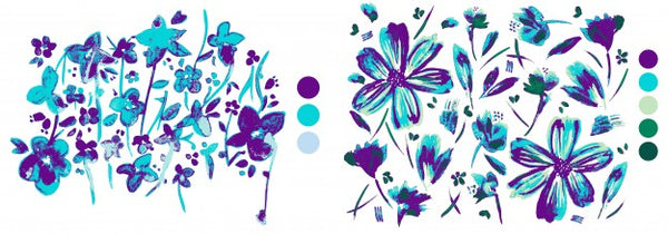 Floral Pattern - Sketches