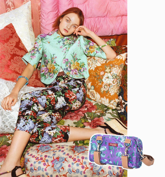 Floral Trends - Mixing Floral Prints