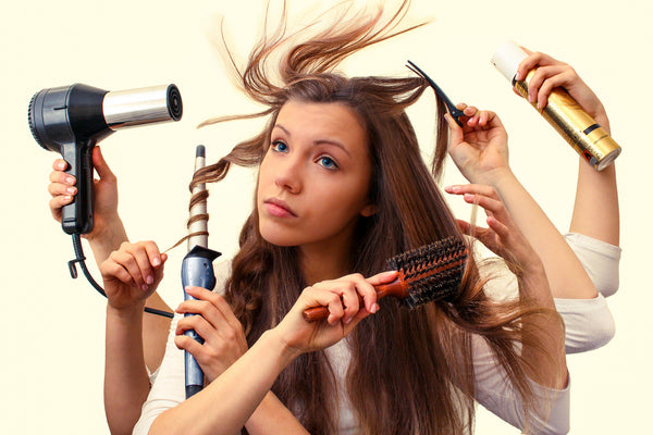 Frizzy Hair Tips - Hair Styling