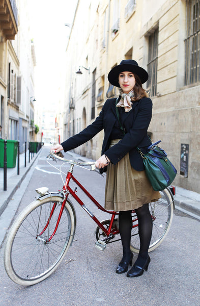 How to Bike in a Skirt - Length