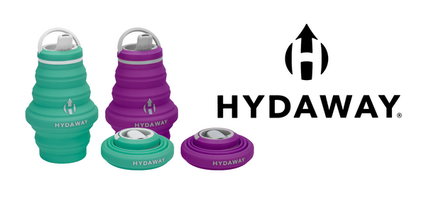 HYDAWAY collapsible water bottle