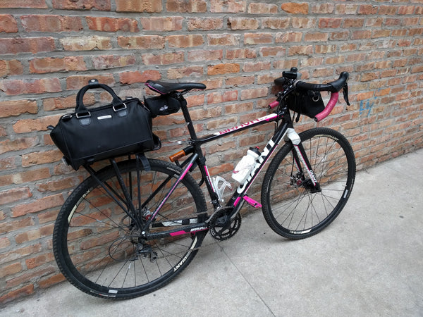 Gear for bike commuting: Po Campo Uptown Bike Trunk Bag