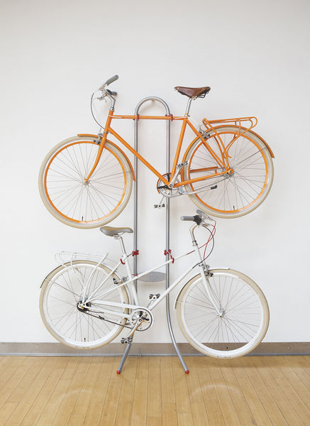 Indoor Bike Storage Ideas for Mixte & Step-Thru Bike Frames | Po Campo