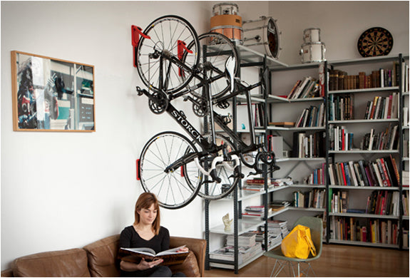 Indoor Bike Storage - Bike Hook