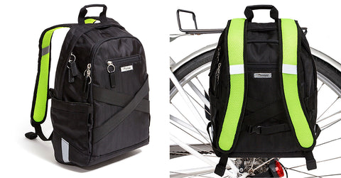 Irving Backpack Pannier On and Off the Bike