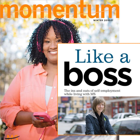 National MS Society Momentum Magazine