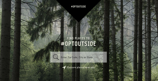 #OptOutside - Explore Outdoors
