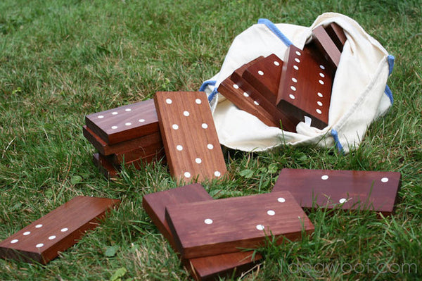 Outdoor Lawn Games - Giant Dominoes