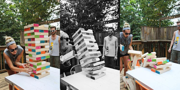 Outdoor Lawn Games - Giant Jenga