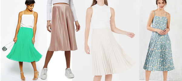 Spring 2016 Fashion Trends: Pleated Skirts