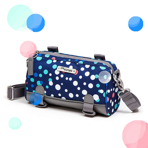 Po Campo Kinga Handlebar Bag Bike Purse in Bubbles