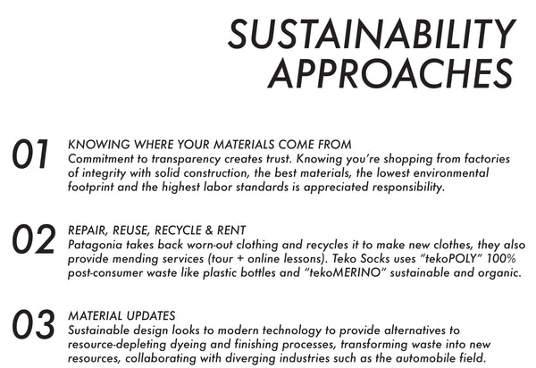 Po Campo's Sustainability Trends