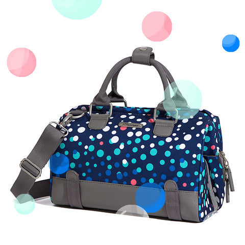 Po Campo Uptown Trunk Bag in Bubbles