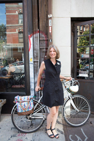 Maria Boustead stylish bike bags designer