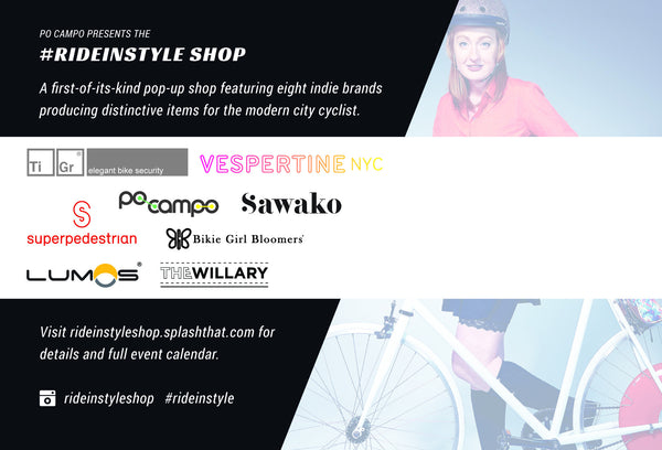 Ride in Style Pop Up Shop