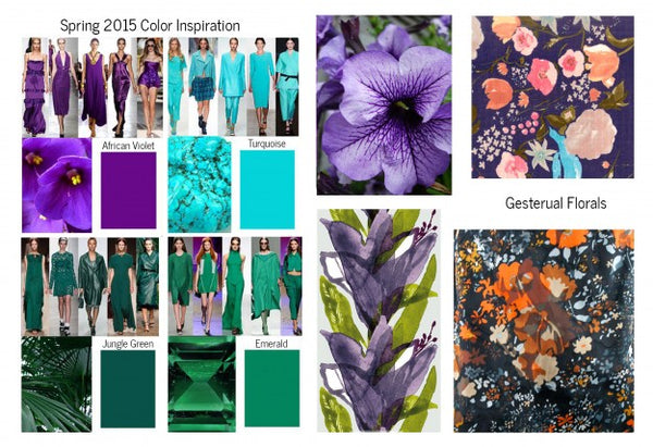 Floral Pattern - Color Inspiration