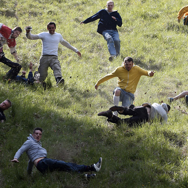 Spring Festivals - Cooper's Hill Cheese Rolling