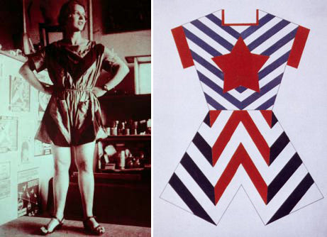 Russian Constructivism - Clothing