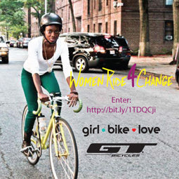 Girl Bike Love Women Ride 4 Change contest