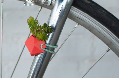 Wearable planter - bike