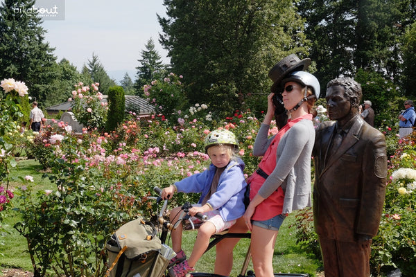 Bike Vacation - Stop to Smell the Roses