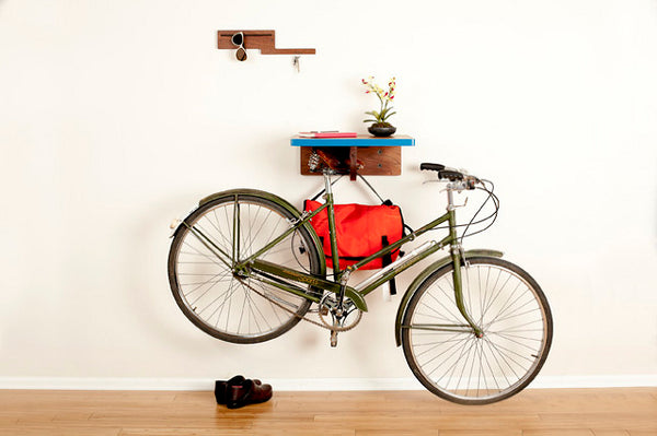 Indoor Bike Storage - Bike Shelf